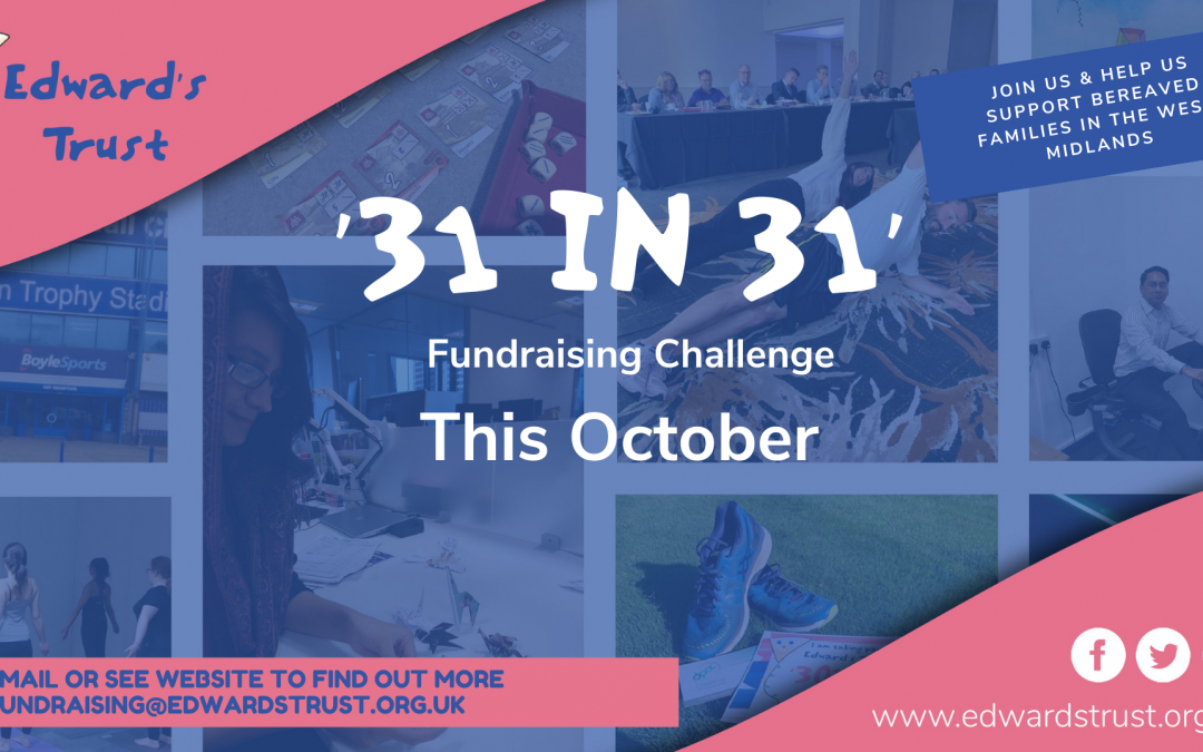 '31 in 31′ Fundraising Challenge launches in October